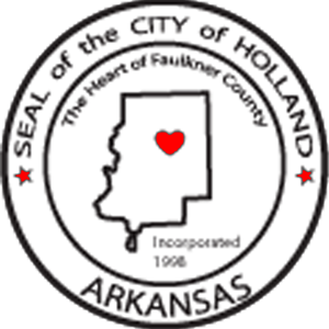 Welcome to Holland Arkansas! Holland is a city in Faulkner County, Arkansas, United States. The population was 577 at the 2000 census. It is part of the Little Rock–North Little Rock–Conway Metropolitan Statistical Area. http://hollandar.org/