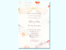 Invitations      Handmade Ivory Invites