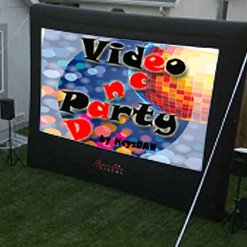 Video Dance Party - Big Screen Music Video Party Miami Video Dance Party, Florida Keys video dance party, Miami, DJ's School Dances